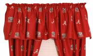 Alabama Crimson Tide Window Valance