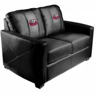 Alabama Crimson Tide XZipit Silver Loveseat with BAMA Logo
