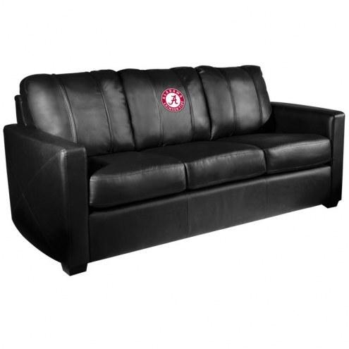 Alabama Crimson Tide XZipit Silver Sofa