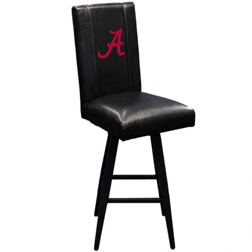 Alabama Crimson Tide XZipit Swivel Bar Stool 2000 with A Logo