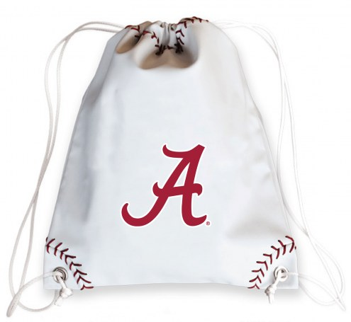 Alabama Crimson Tide Baseball Drawstring Bag