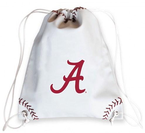 Alabama Crimson Tide Baseball Drawstring Bag