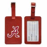 Alabama Crimson Tide Basketball Luggage Tag