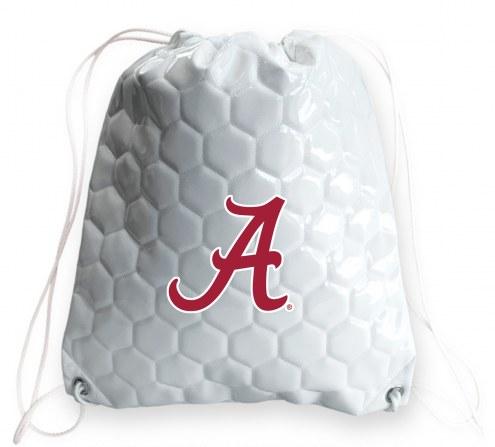 Alabama Crimson Tide Soccer Drawstring Bag