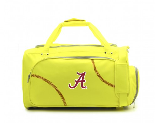 Alabama Crimson Tide Softball Duffel Bag