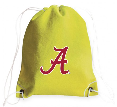 Alabama Crimson Tide Tennis Drawstring Bag