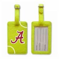 Alabama Crimson Tide Tennis Luggage Tag