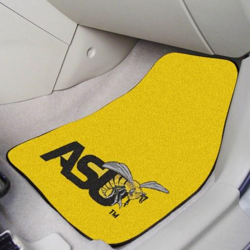 Alabama State Hornets 2-Piece Carpet Car Mats