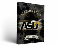 Alabama State Hornets Banner Canvas Wall Art
