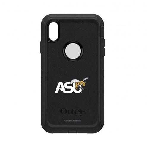 Alabama State Hornets OtterBox iPhone XS Max Defender Black Case