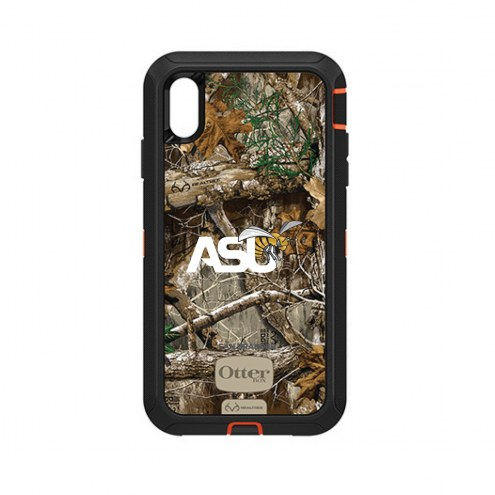 Alabama State Hornets OtterBox iPhone XS Max Defender Realtree Camo Case