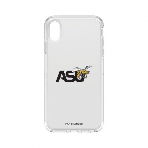 Alabama State Hornets OtterBox iPhone XS Max Symmetry Clear Case