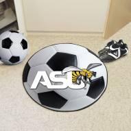 Alabama State Hornets Soccer Ball Mat
