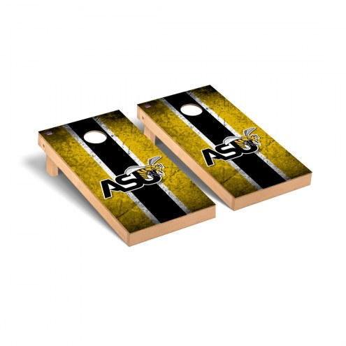 Alabama State Hornets Vintage Cornhole Game Set