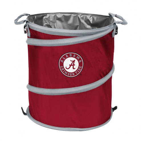 Alabama Crimson Tide Collapsible Trashcan