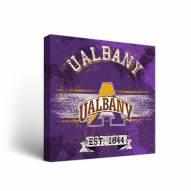 Albany Great Danes Banner Canvas Wall Art