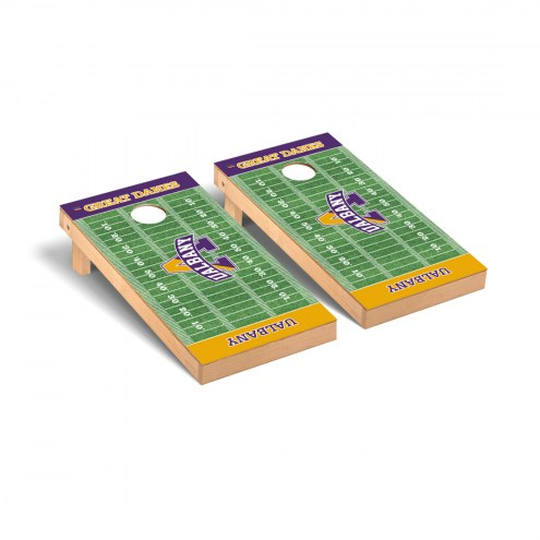 Albany Great Danes Football Field Cornhole Game Set