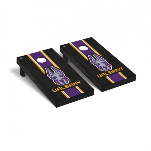 Albany Great Danes Onyx Stained Cornhole Game Set