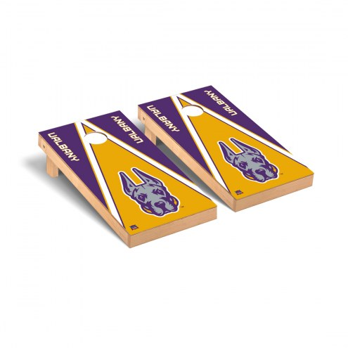 Albany Great Danes Triangle Cornhole Game Set