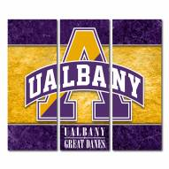 Albany Great Danes Triptych Double Border Canvas Wall Art