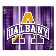 Albany Great Danes Triptych Rush Canvas Wall Art