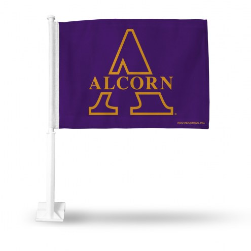 Alcorn State Braves Car Flag