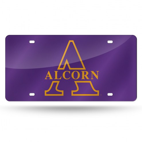 Alcorn State Braves Laser Cut License Plate