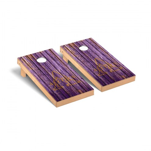 Alcorn State Braves Weathered Cornhole Game Set
