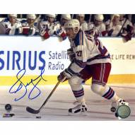 Alexei Kovalev Signed Skating with Puck 8 x 10 Photo