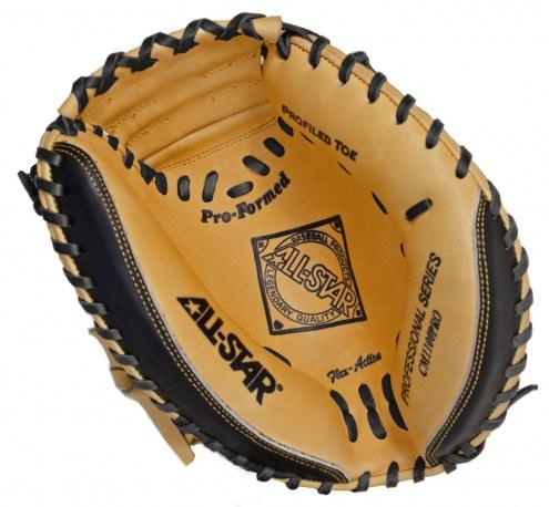 "All Star Pro Advanced CM3100 33.5"" Baseball Catcher's Mitt - Left Hand Throw"