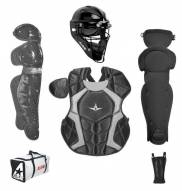 All Star Players Series NOCSAE Certified Youth Catcher's Gear Set - Ages 7-9