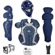 All Star Players Series NOCSAE Certified Youth Catcher's Gear Set - Ages 12-16 - SCUFFED