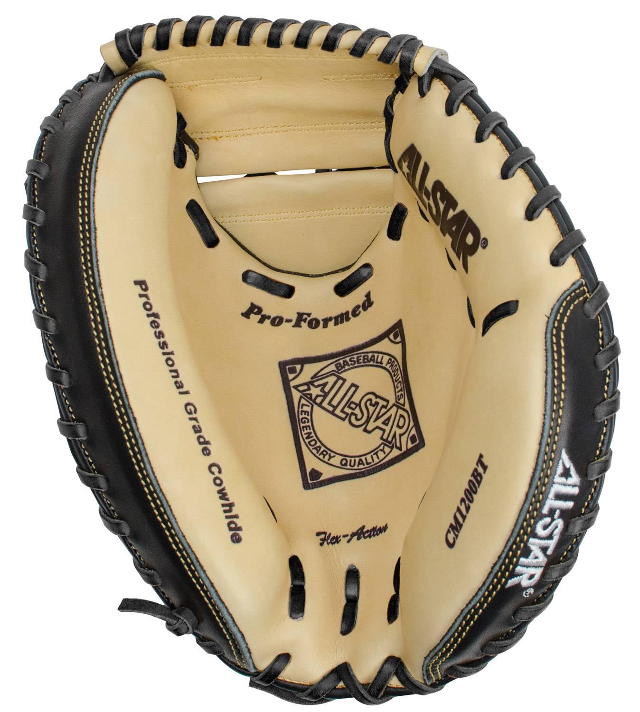 All Star Pro Comp Cm1200bt 315 Youth Baseball Catchers Mitt Left Hand Throw