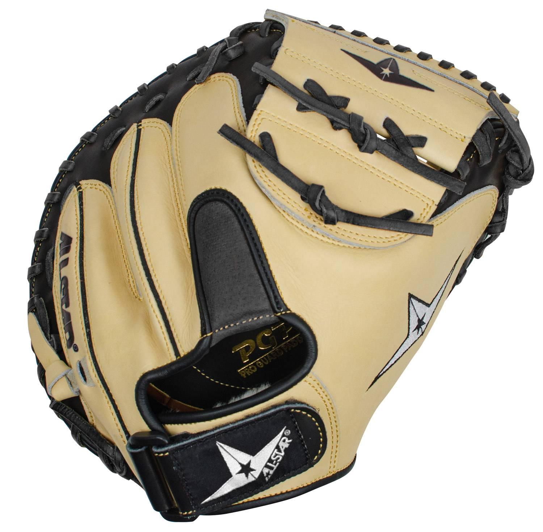 All Star Pro Comp Cm3200 335 Baseball Catchers Mitt Left Hand Throw