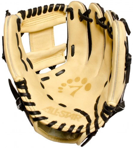 """All Star System Seven 11.5"""" Infield Baseball Glove - Right Hand Throw"""