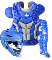 All Star System7 Adult Pro Baseball Catcher's Kit - SCUFFED