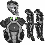 All Star System7 Axis CC NOCSAE Certified Adult Pro Baseball Catcher's Kit - SCUFFED