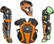 All Star System7 Axis NOCSAE Certified Two Tone Youth Pro Catcher's Kit - Ages 9-12