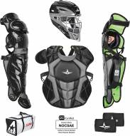 All Star System7 Axis NOCSAE Certified Senior Pro Catcher's Kit - Ages 12-16 - SCUFFED