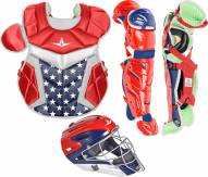 All Star System7 Axis USA Senior Pro Catcher's Kit - Ages 12-16