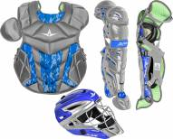 All Star System7 Axis Youth Pro Camo Catcher's Kit - Ages 9-12