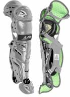 """All Star System7 Axis Youth 13.5"""" Pro Camo Catcher's Leg Guards"""