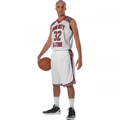 Alleson Sublimated Custom Basketball Uniform