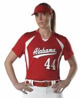 Alleson Women's/Girls' Short Sleeve Custom Fastpitch Softball Jersey