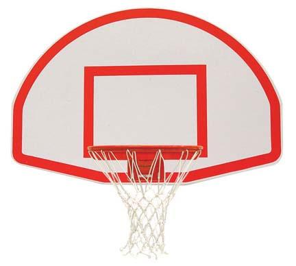 Spalding Aluminum Fan Basketball Backboard