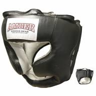 Amber Boxing Headgear with Cheek Protectors