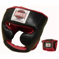 Amber Deluxe Boxing Headgear With Cheek Protectors