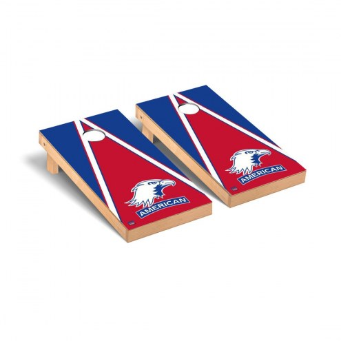 American University Eagles Triangle Cornhole Game Set