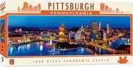 American Vistas Pittsburgh 1000 Piece Panoramic Puzzle