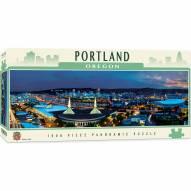 American Vistas Portland 1000 Piece Panoramic Puzzle